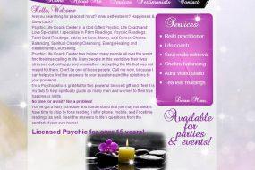Psychic life coach center